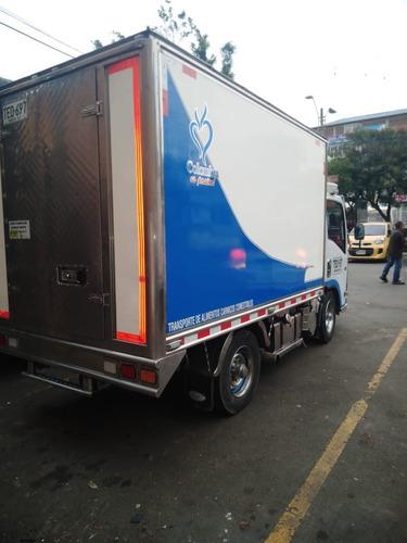 servio de transporte de carga refrigerada.