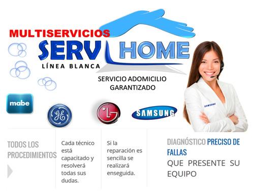 serviplus mabe general lg servicio técnico lavadoras neveras