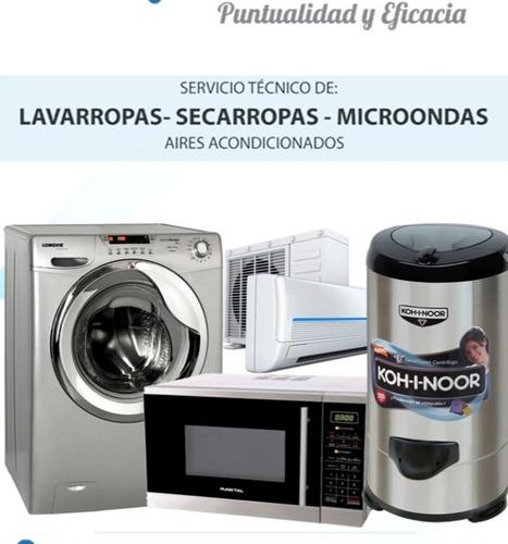 servis de lavarropas  microondas heladeras y aires acondicio