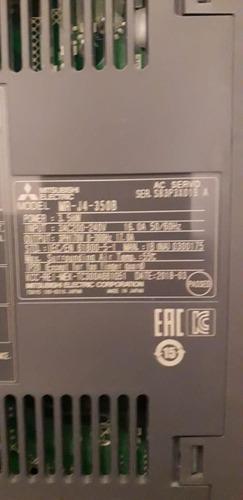 servo amplifier mr j4- 350b mitsubishi