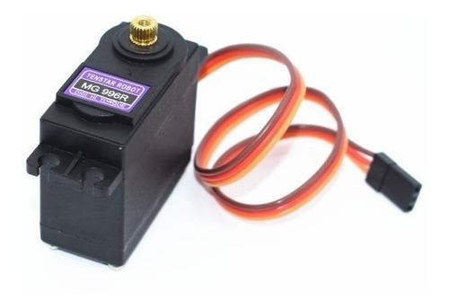 servo digital mg996r mg996 torque 12kg engranajes metalicos