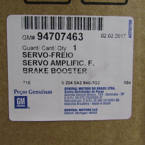 servo freio hidrovacuo blazer s10 96/11 original gm 94707463