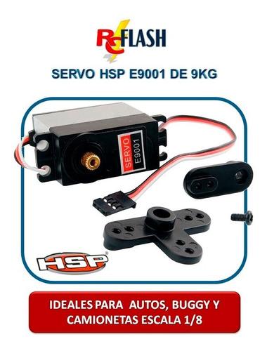 servo metálico auto buggy monster rc hsp e9001 9kg original