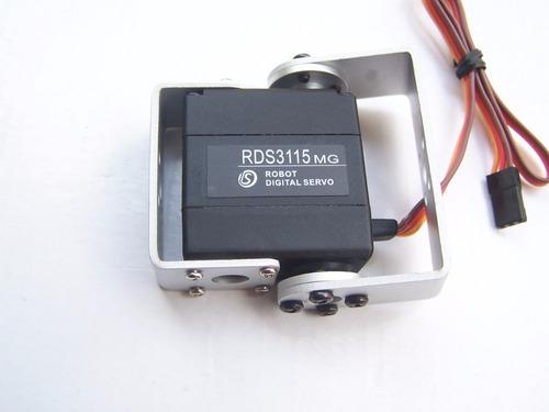 servo motor rds3115 mg de alto torque - engranajes metalicos