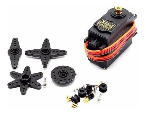 servo motor tower pro mg995 engranajes metalicos arduino