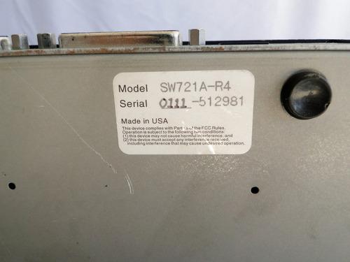 servswitch black box sw721a-r4 - sem a fonte no estado