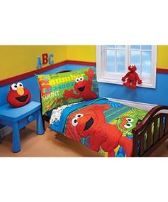 Sesame Street Abc 123 Set De 4 Piezas Para Niños Pequeños