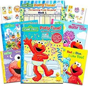Sesame Street Elmo Adventure Potty Chair  Mmu  Ozw en