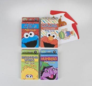 Sesame Street Flashcards 4 Surtidos En 2 Pdq S Case Pack