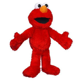 Sesame Street Let's Cuddle Elmo Plush Doll: 10 Elmo