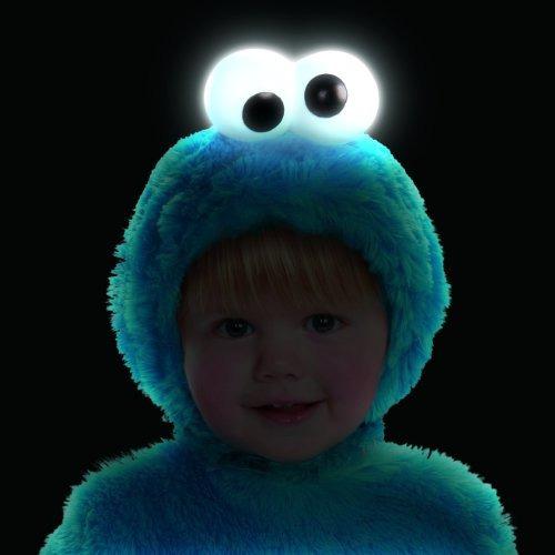 Sesame Street Luz Hasta El Monstruo De Las Galletas Niño Tra
