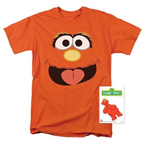 Sesame Street Murray Face Camiseta & Stickers