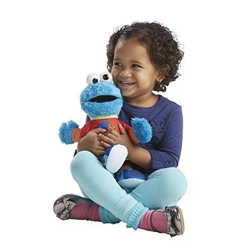 Sesame Street Parlante 123 Cookie Monster Figura , Nuevo