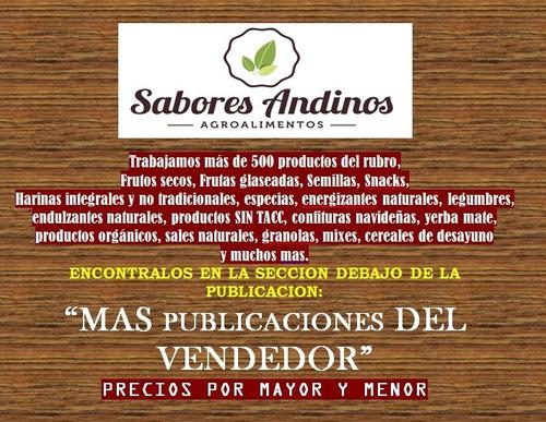 sesamo negro semilla 1 kg premium / envios -sabores andinos