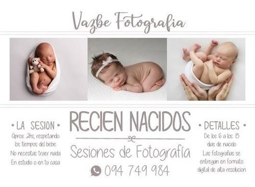 sesión de fotos recién nacidos