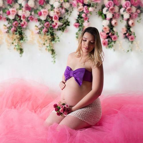 sesion para embarazada y toda la familia