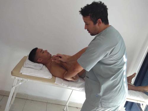 sesiones de kinesiologia, quiropraxia y osteopatia
