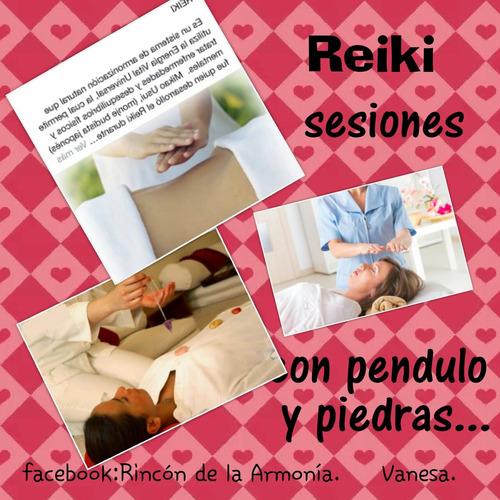 sesiones de reiki