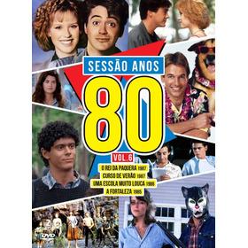 Sessão Anos 80 Volume 6 Box Original Lacrado 4 Filmes 2 Dvds