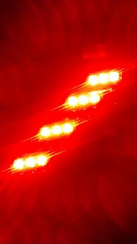 sest luz interio color rojo