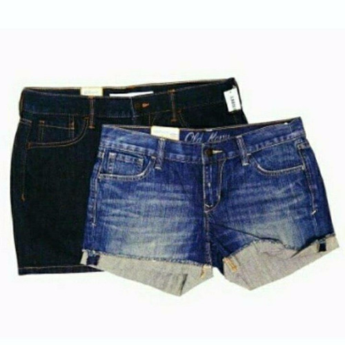 set 1 short y 1 falda old navy original talla 6 mujer 0061