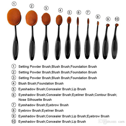 Spoon makeup brushes mac