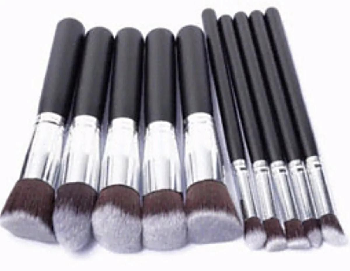 5d0b39e96b40e set 10 brochas kabuki maquillaje profesional envio gratis. Cargando zoom.