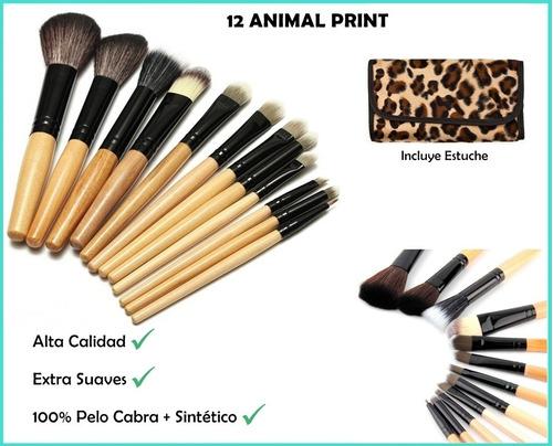 set 12 brochas kabuki ojos maquillaje profesional, mayoreo
