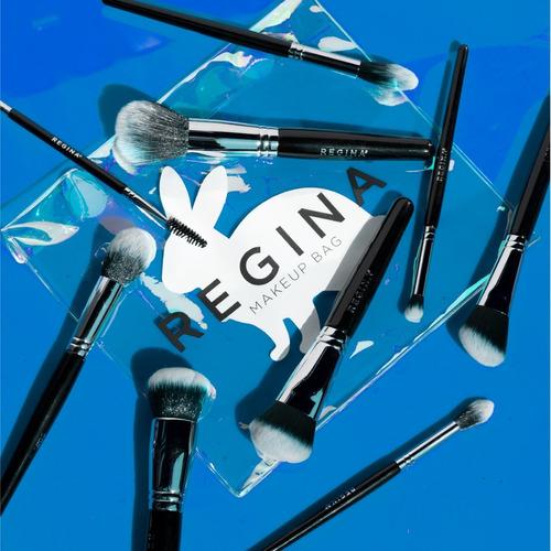 set 12 brochas y pinceles + makeup bag #crueltyfree regina