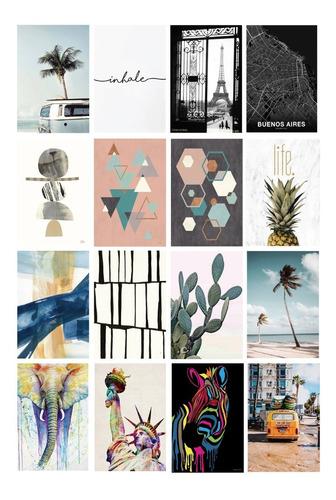 set 12 cuadros modernos diferentes medidas