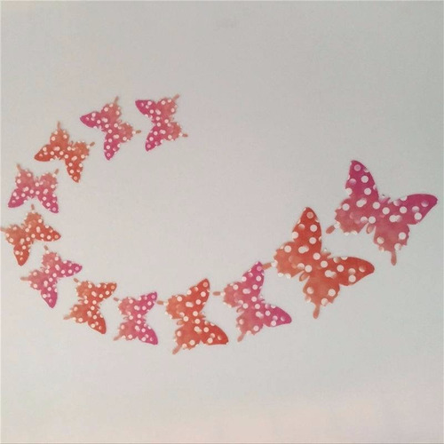 set 12 mariposas decoración hogar. promoción 2 set x $5.000.