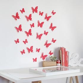 Set 12 Mariposas Decorativas 3d / 3 Tamaños Diferentes