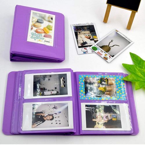 set 13 en1 accesorios camara fujifilm instax mini 8 rosa w01