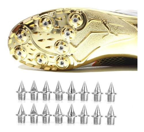 set 16 clavos acero 7mm para zapatillas de atletismo running
