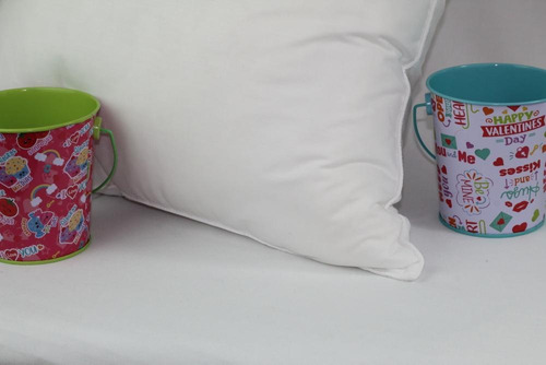 set 2 almohadas std suavefirme hotelera lavable c/fundas