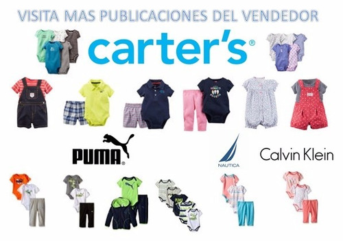 set 2 bodys carters originales recien nacido + pantalon