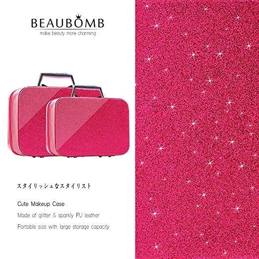 d5fc2b886afd Set 2 Caja Organizador Cosmetiquera Maquillaje Rosa Beaubomb