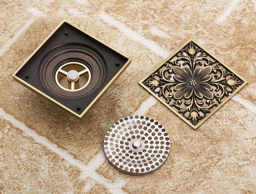 set 2 coladeras de baño artistico antiguo no llave grifo