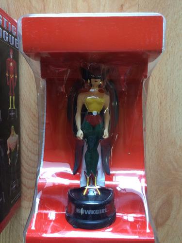 set 2 dc justice legue hawkgirl green lantern serie animada
