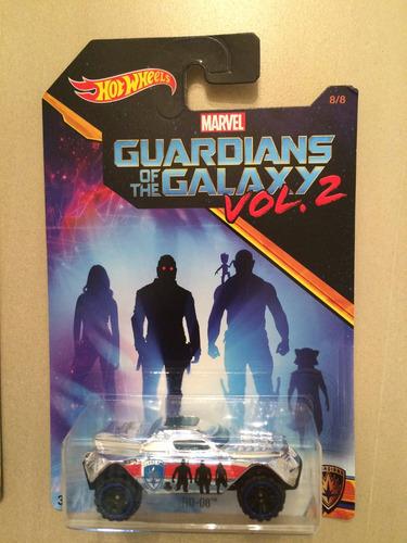 set 2 hot wheels guardianes de la galaxia vol. 2
