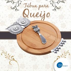 Set 2 Pçs Tábua P/queijos  Petisqueira Frete Grátis Promocão