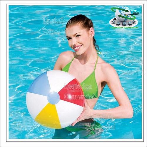 set (2) pelota inflable 51cm para piscina playa 31021