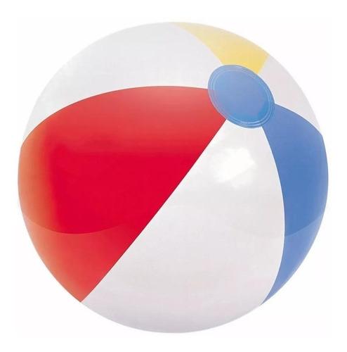 set (2) pelota inflable 61cm para piscina playa 31022
