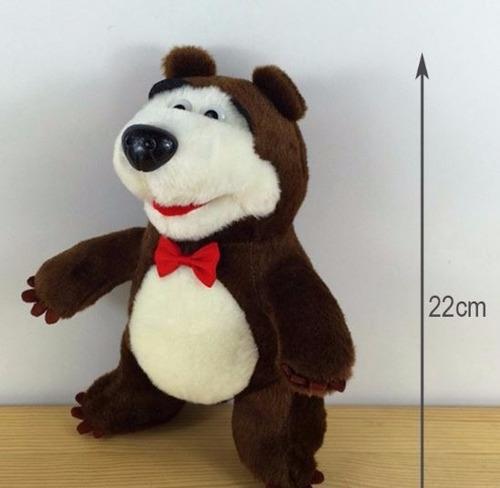 set 2 peluches masha y oso