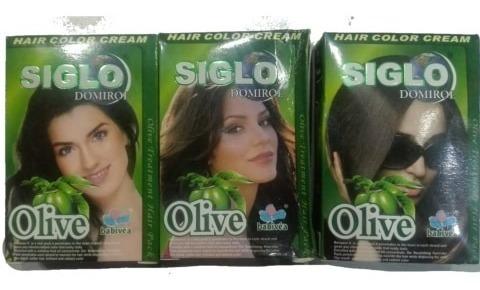set 2 pigmentos para cabello marca siglo