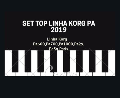 set 2019 w.r top sampleado