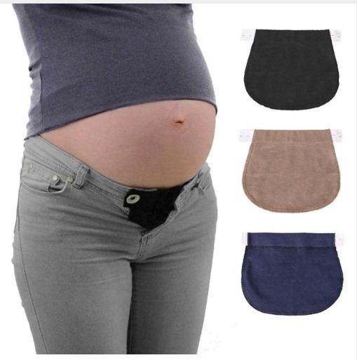 23110abc9 Set 3 Banda Extensor De Pantalón Maternidad Belly Band -   549.90 en ...
