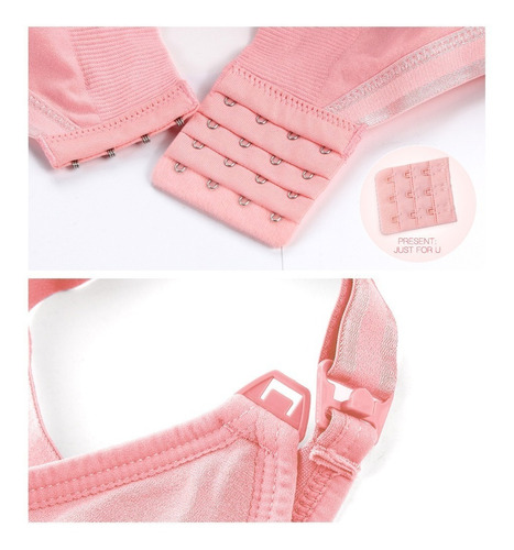 set 3 brasier de lactancia aire bra ropa de maternidad s/v