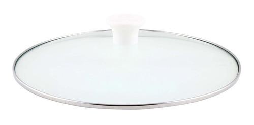 set 3 cacerolas enlozadas tapa de vidrio 16-18-20cm 2º selec