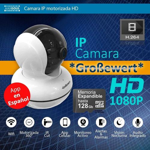 set 3 camaras seguridad ip motorizado wifi nocturna hd p2p